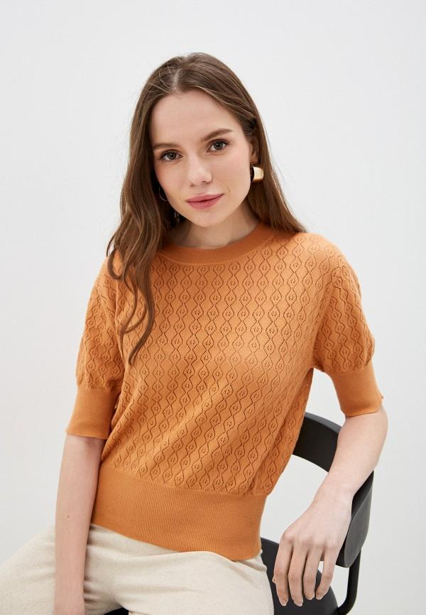 женский джемпер rodier, оранжевый