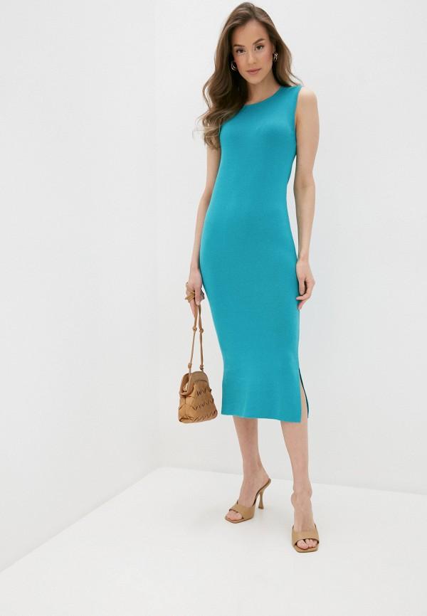 женское повседневные платье rodier, бирюзовое