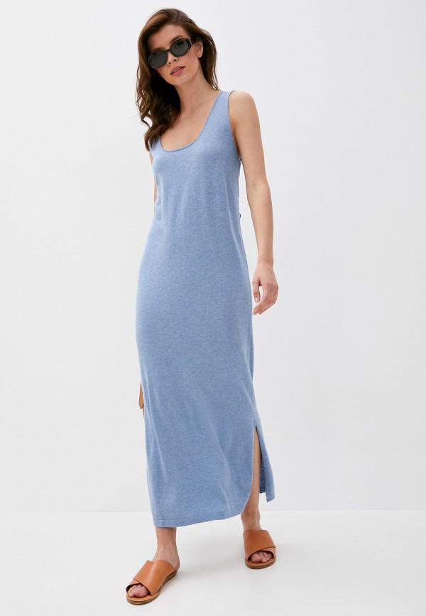 женское платье rodier, синее