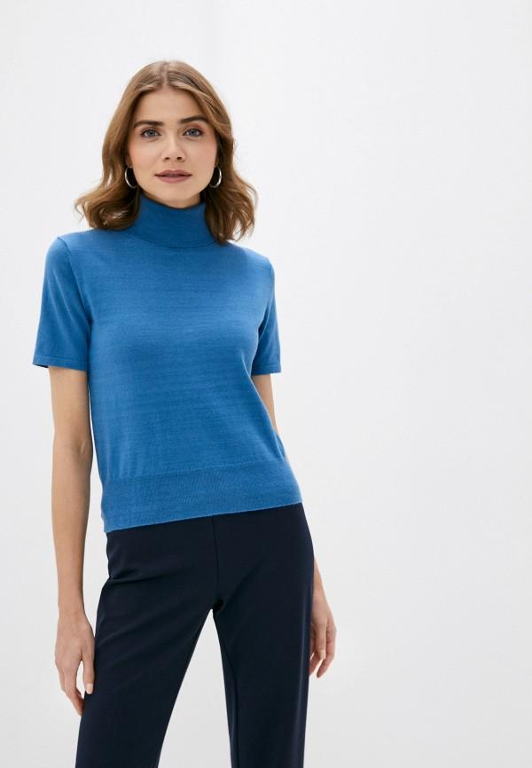 женская водолазка rodier, синяя
