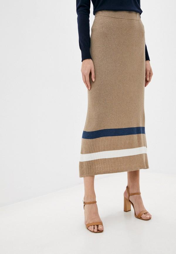женская юбка rodier, бежевая