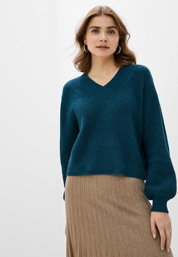 женский пуловер rodier, зеленый