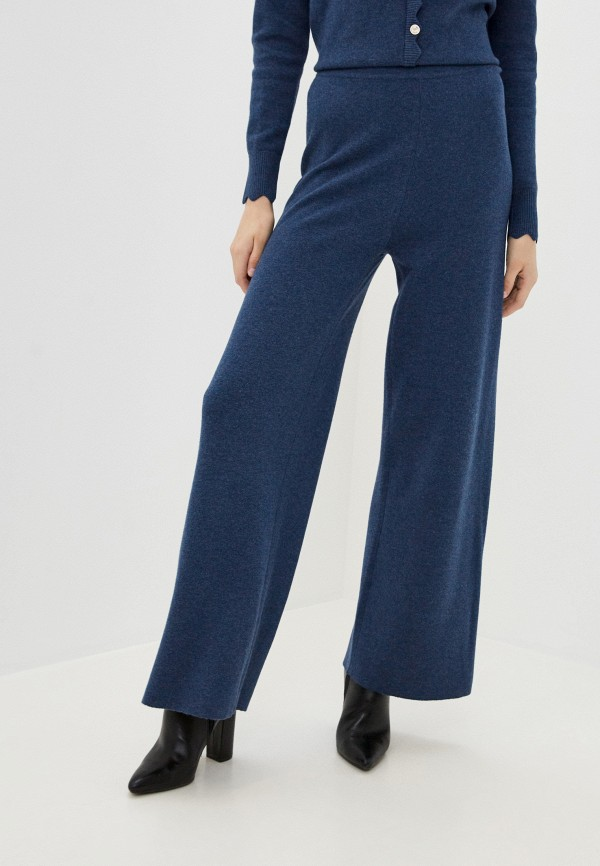 женские повседневные брюки rodier, синие