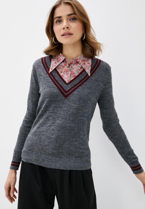 женский пуловер rodier, черный