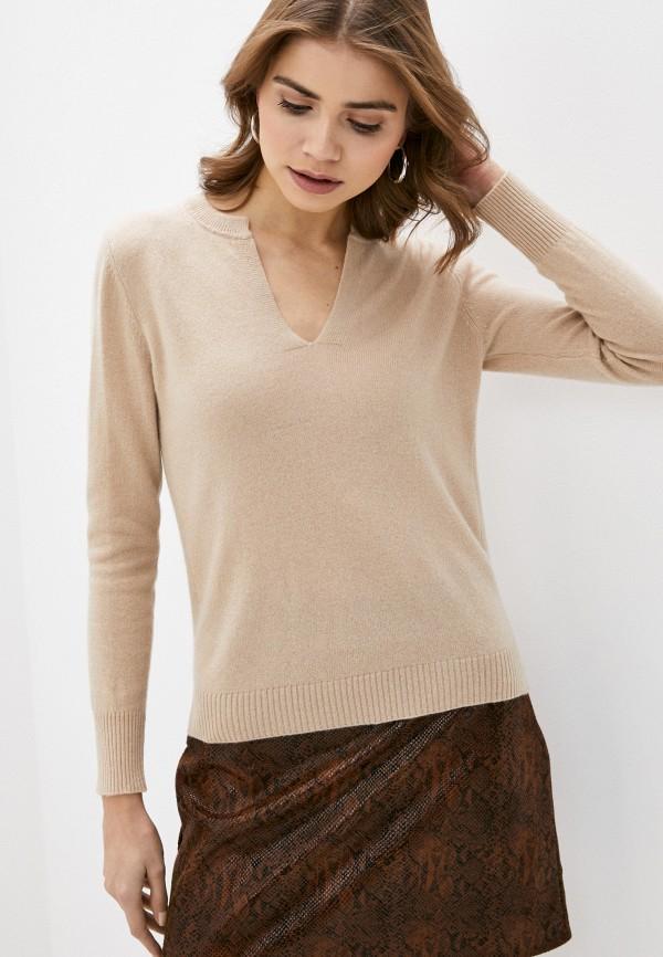 женский пуловер rodier, бежевый