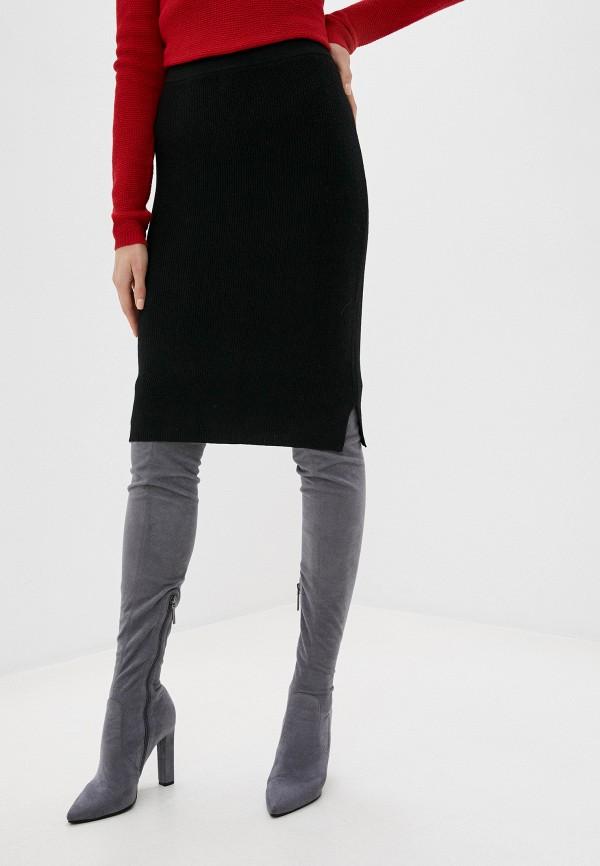 женская зауженные юбка rodier, черная
