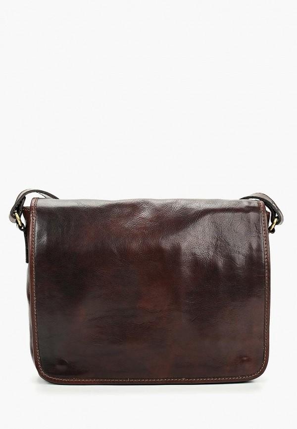 мужская сумка roberta rossi, коричневая