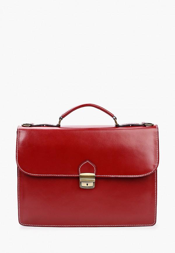 мужской портфель roberta rossi, красный