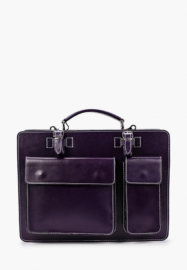 мужская сумка roberta rossi, фиолетовая