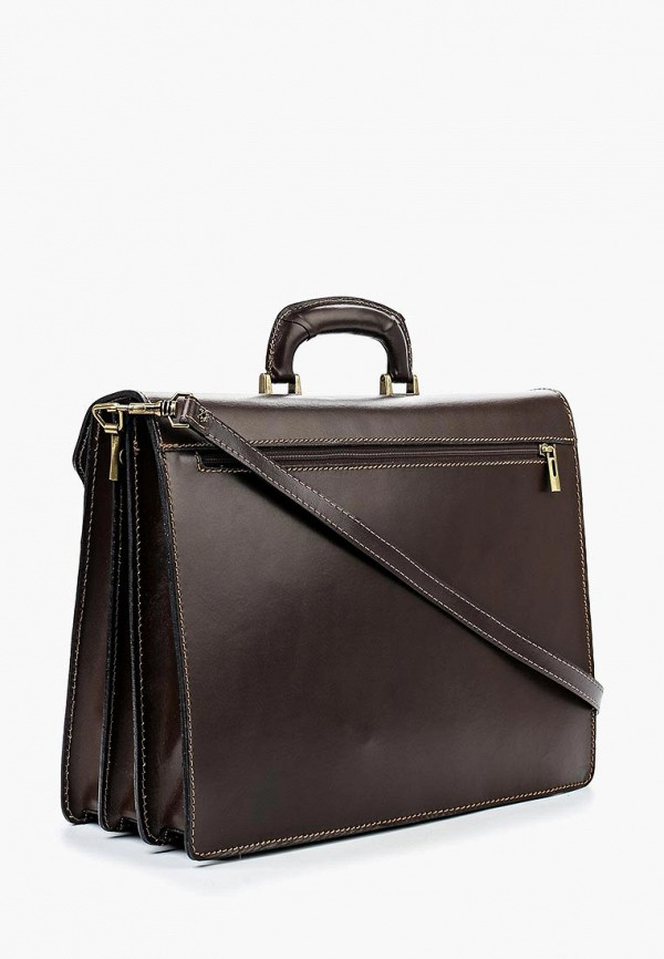 Фото 2 - Мужской портфель Roberta Rossi коричневого цвета