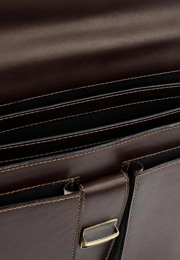 Фото 3 - Мужской портфель Roberta Rossi коричневого цвета