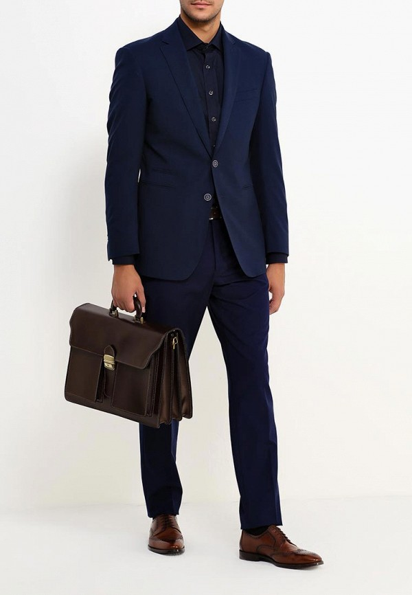 Фото 4 - Мужской портфель Roberta Rossi коричневого цвета