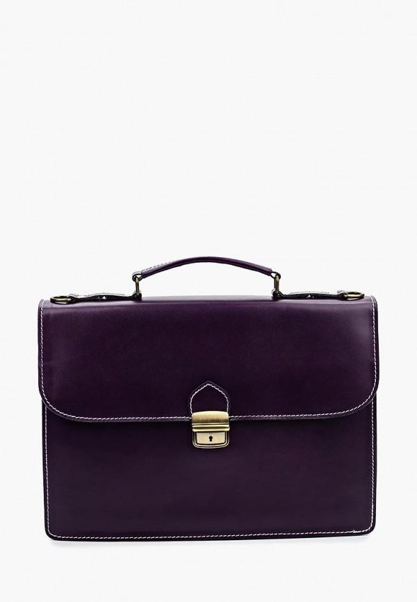 мужской портфель roberta rossi, фиолетовый