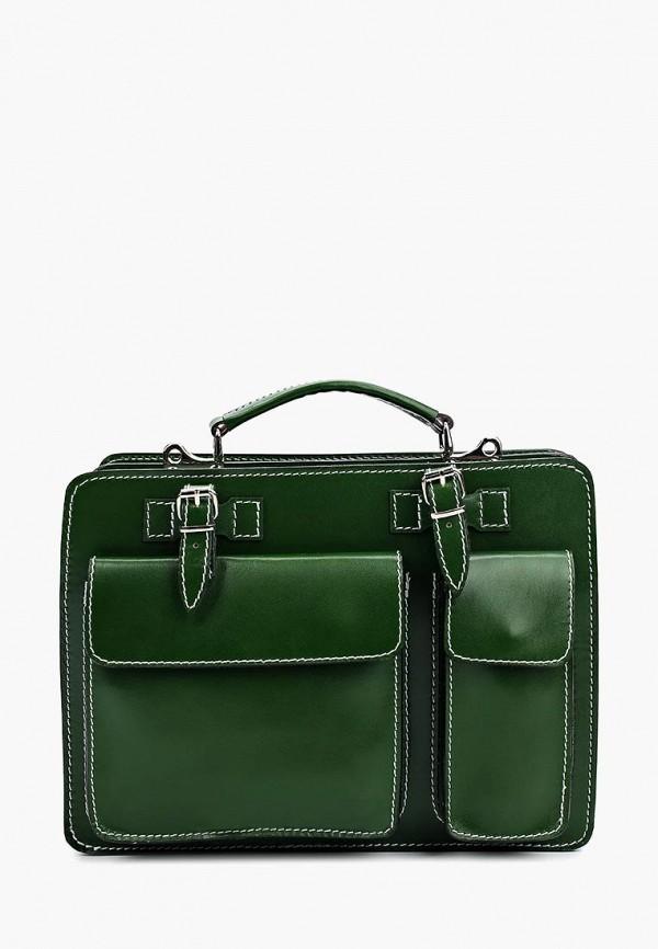 мужской портфель roberta rossi, зеленый