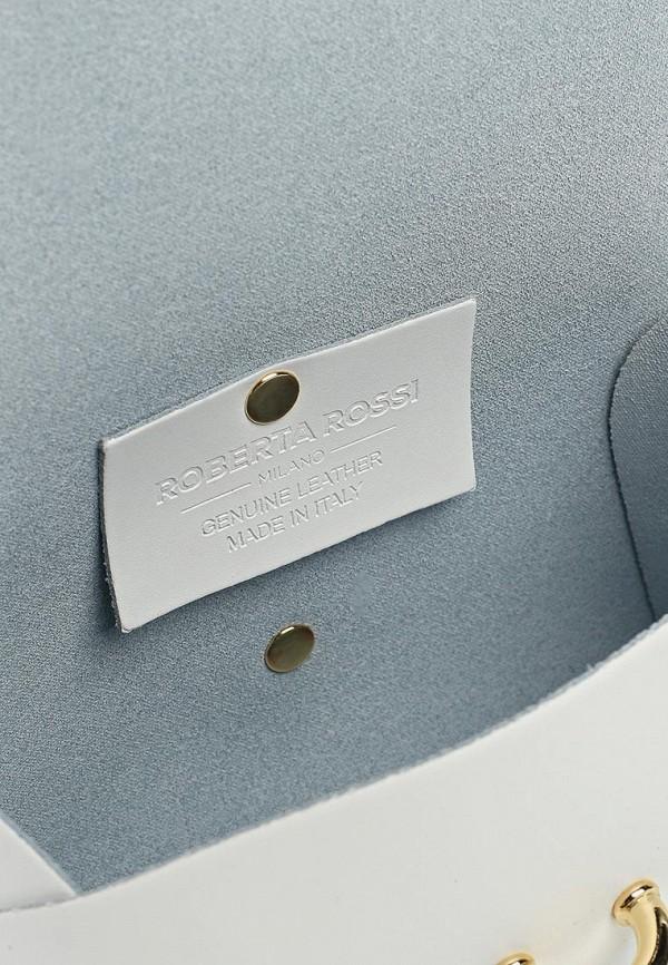 Фото 3 - Женскую сумку Roberta Rossi белого цвета