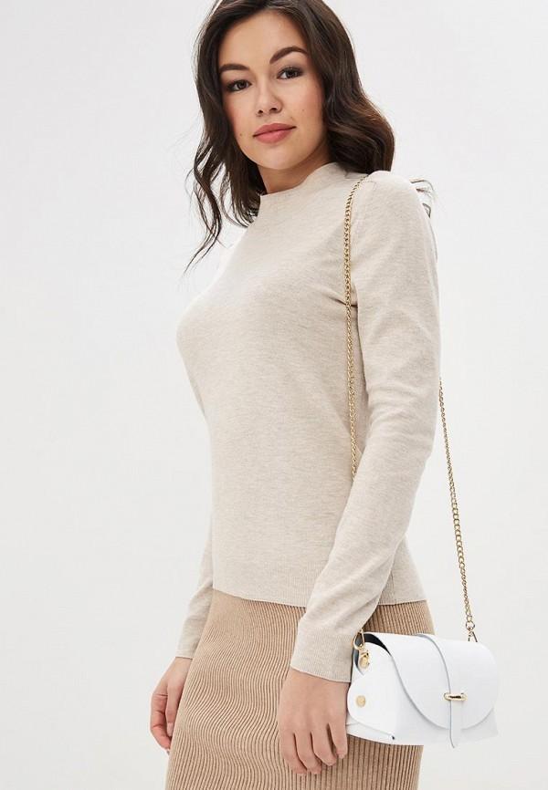 Фото 4 - Женскую сумку Roberta Rossi белого цвета