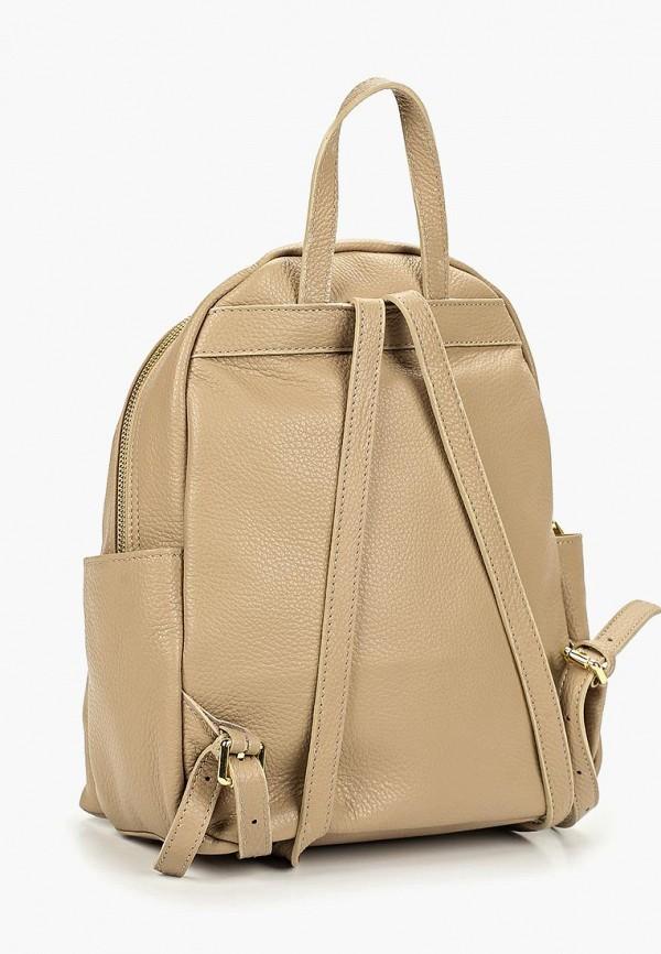 Фото 2 - Женский рюкзак Roberta Rossi бежевого цвета