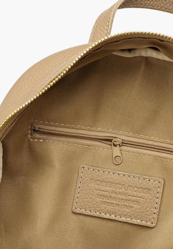 Фото 3 - Женский рюкзак Roberta Rossi бежевого цвета