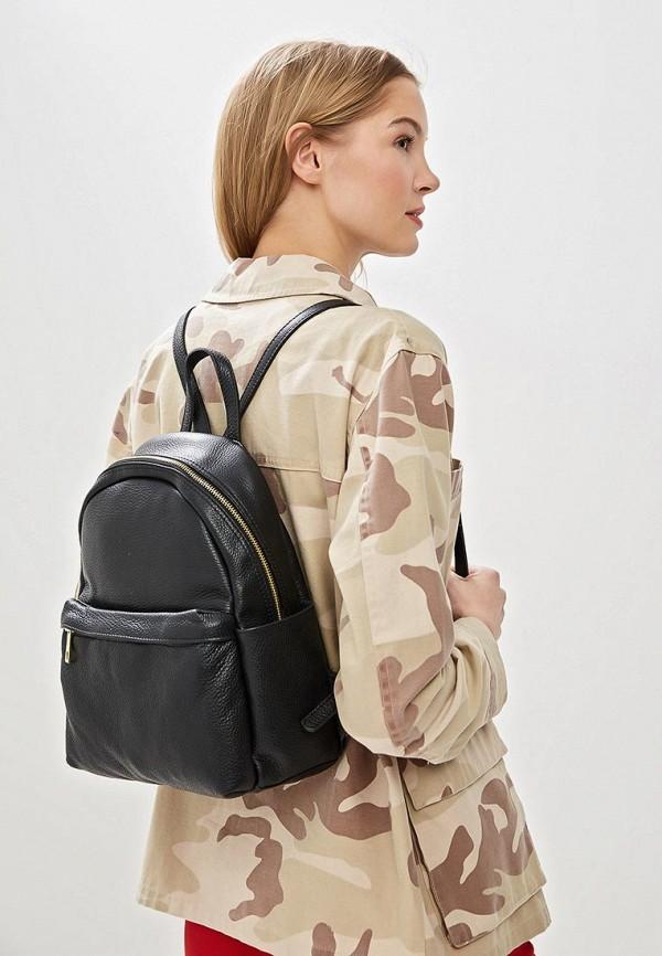 Фото 4 - Женский рюкзак Roberta Rossi черного цвета