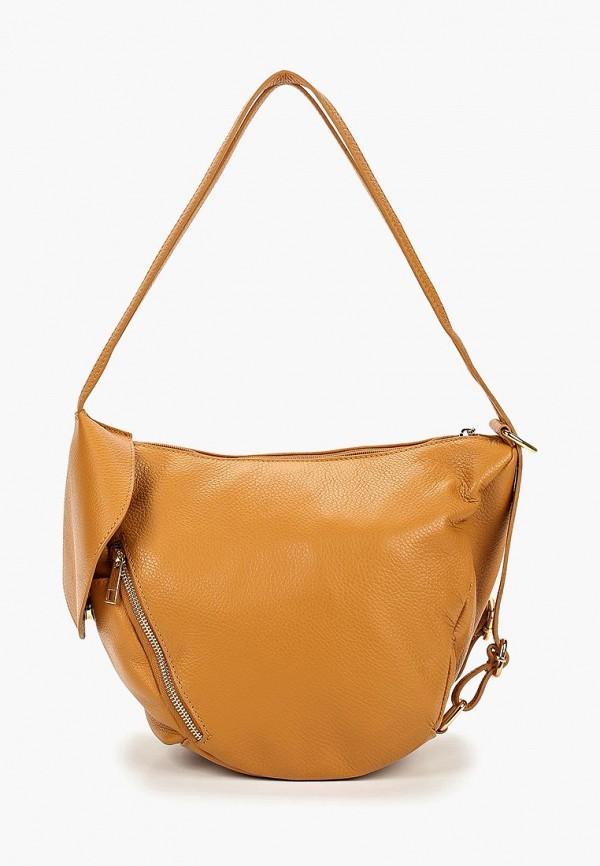 женский рюкзак roberta rossi, коричневый