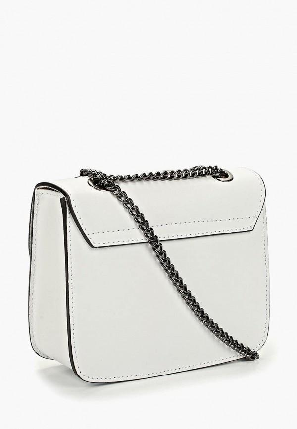 Фото 2 - Женскую сумку Roberta Rossi белого цвета