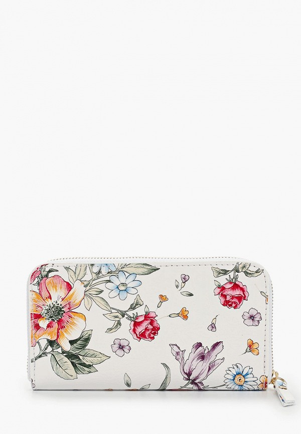 женский кошелёк roberta rossi, белый