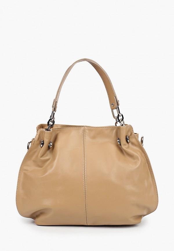 женская сумка roberta rossi, бежевая