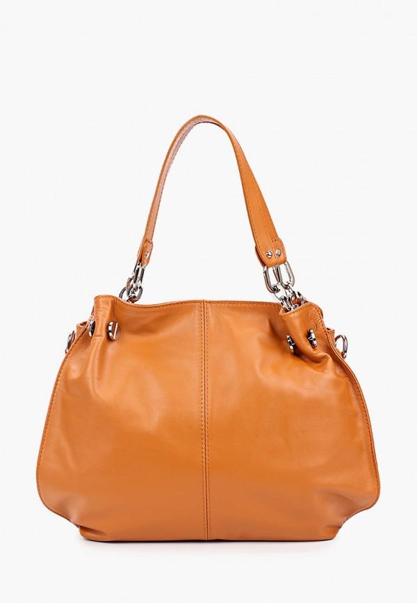 женская сумка roberta rossi, оранжевая