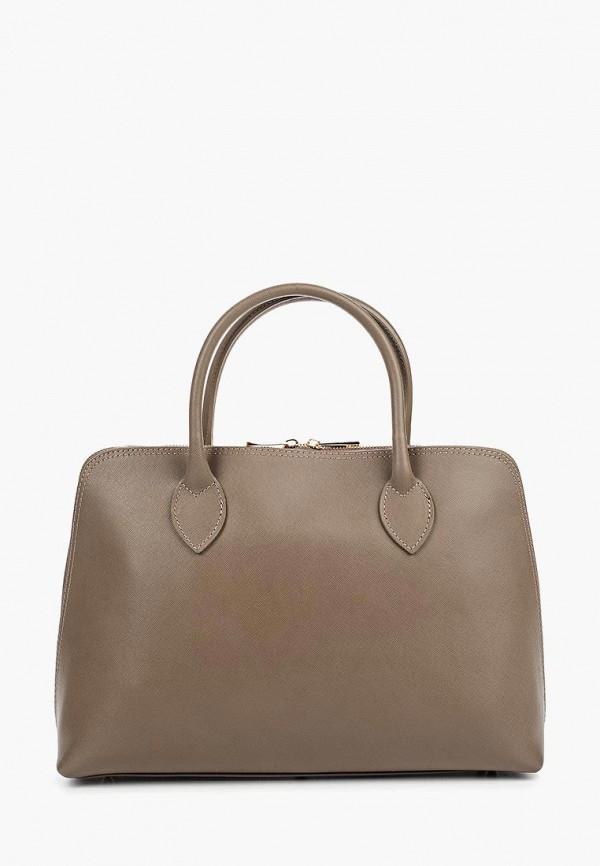 женская сумка roberta rossi, серая