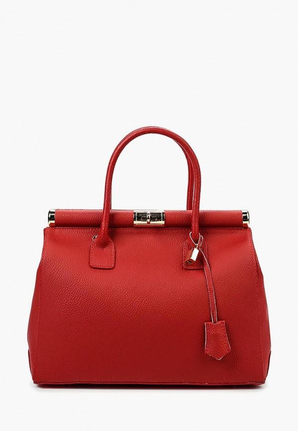 женская сумка roberta rossi, красная