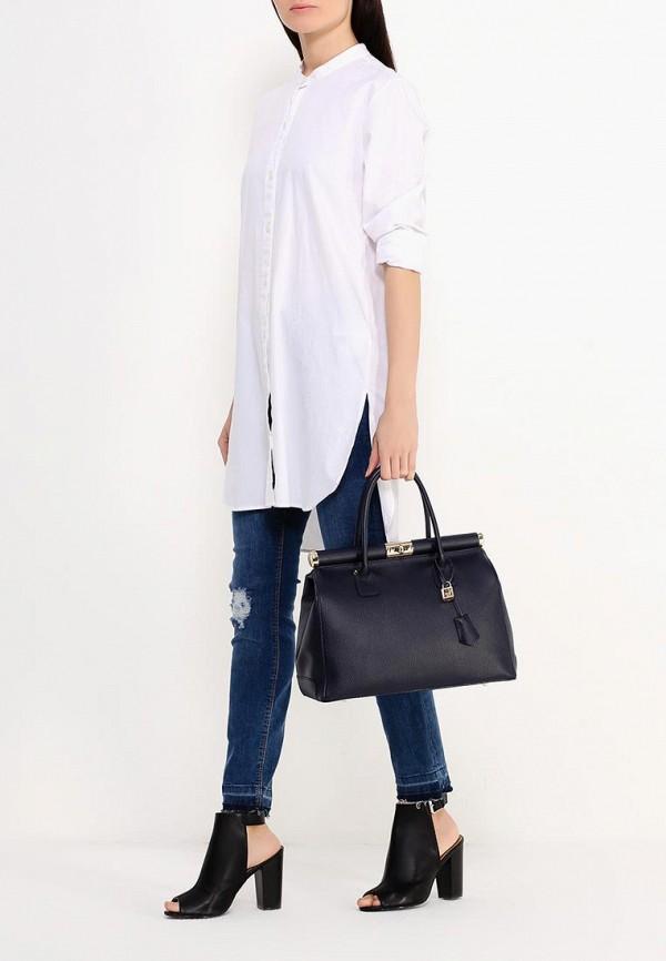 Фото 4 - женскую сумку Roberta Rossi синего цвета