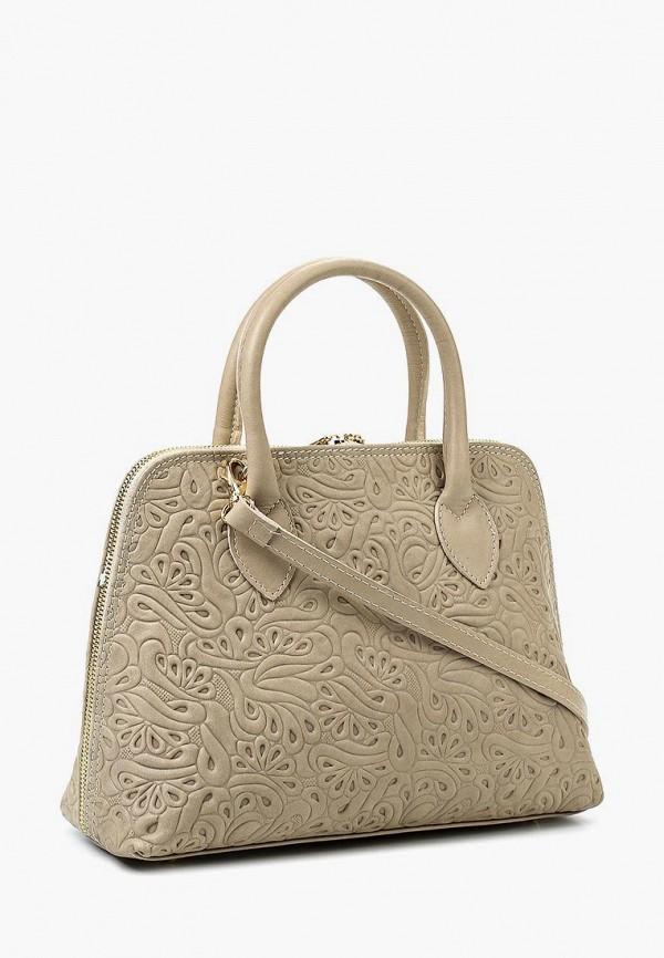 Фото 2 - Женские сумки и аксессуары Roberta Rossi бежевого цвета
