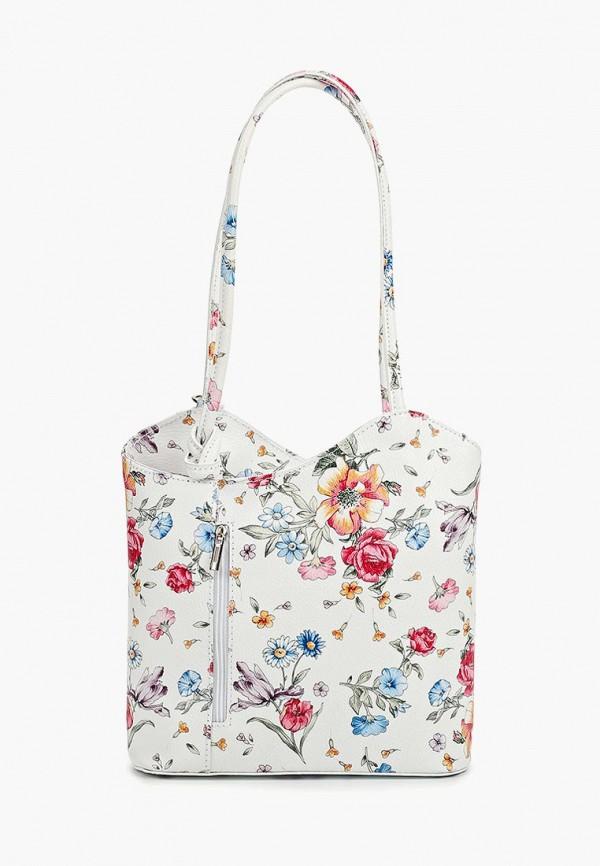 женская сумка-шоперы roberta rossi, белая