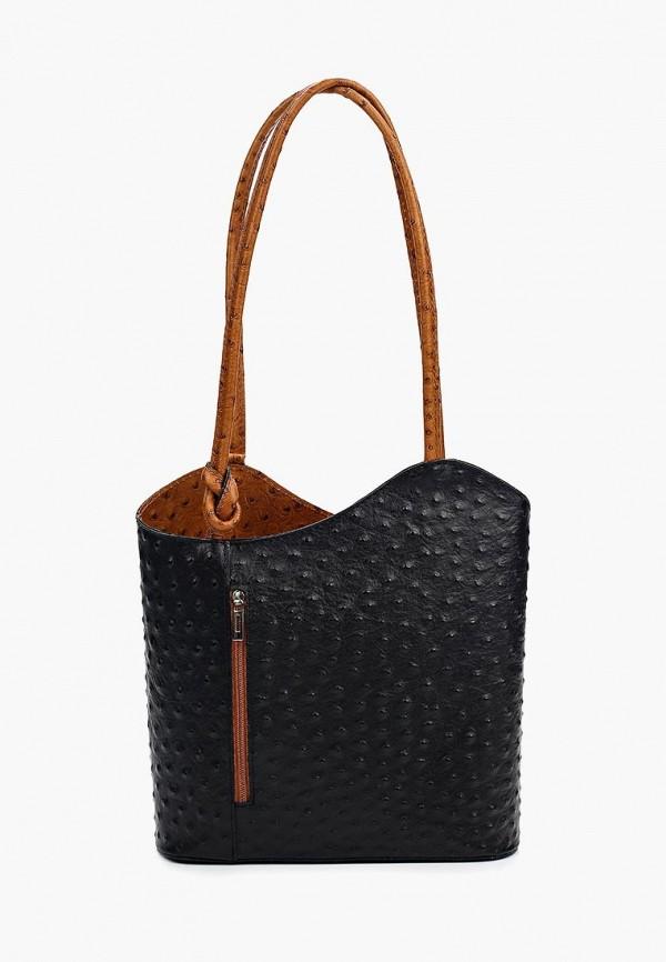 женская сумка roberta rossi, черная