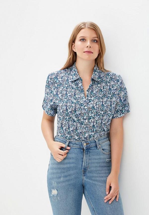 Купить Рубашка Rosa Thea, ro043ewbwam7, синий, Весна-лето 2018