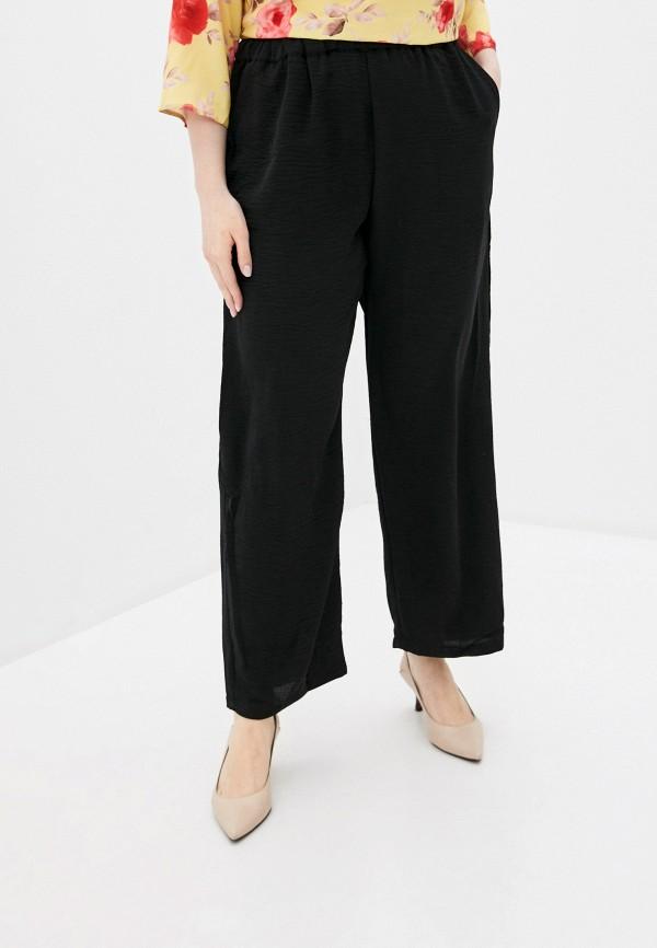 женские прямые брюки rosa thea, черные