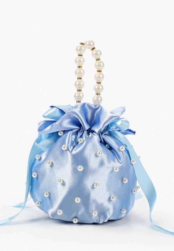 женская сумка rossa, голубая