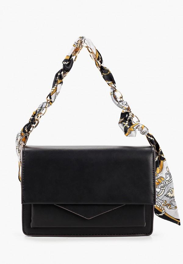 женская сумка rossa, черная
