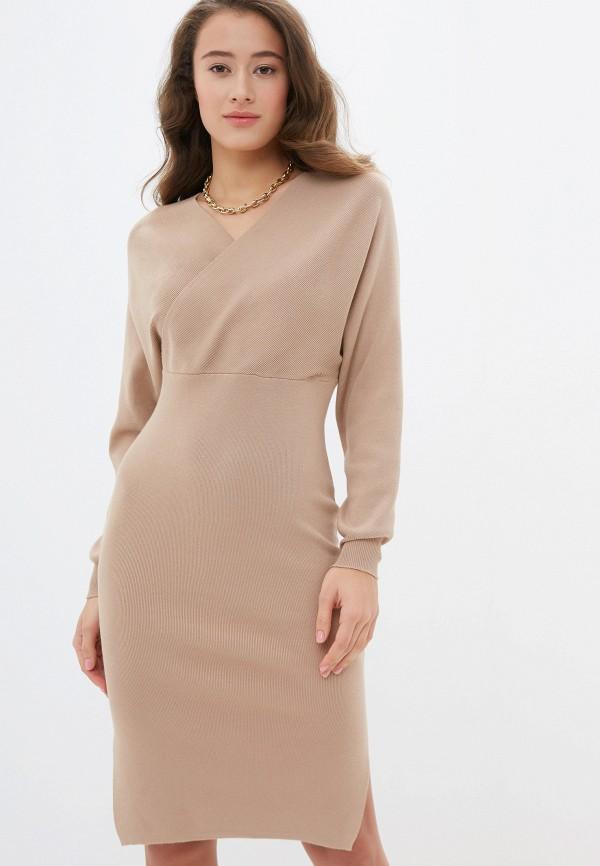 женское повседневные платье rossa, бежевое
