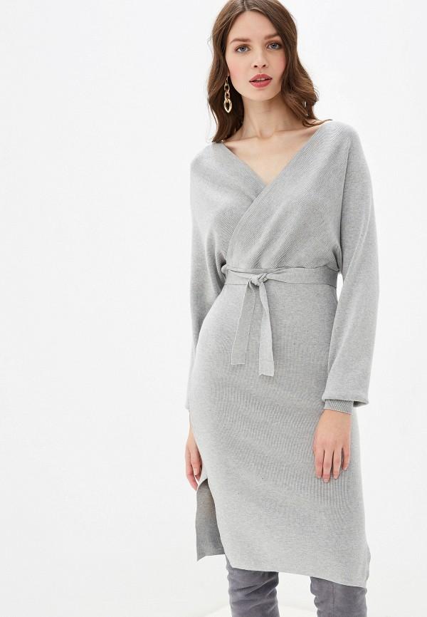 женское повседневные платье rossa, серое