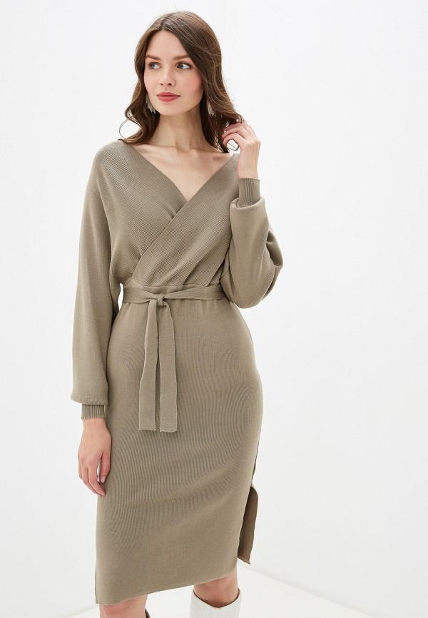женское повседневные платье rossa, хаки
