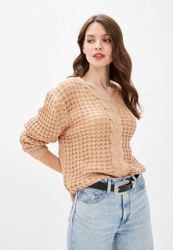 женский пуловер rossa, бежевый