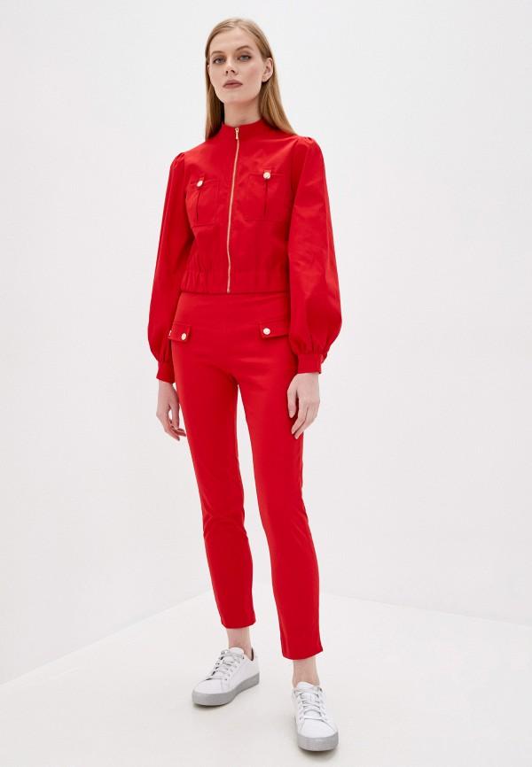 женский костюм rossa, красный