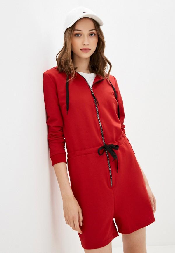 женский комбинезон rossa, красный