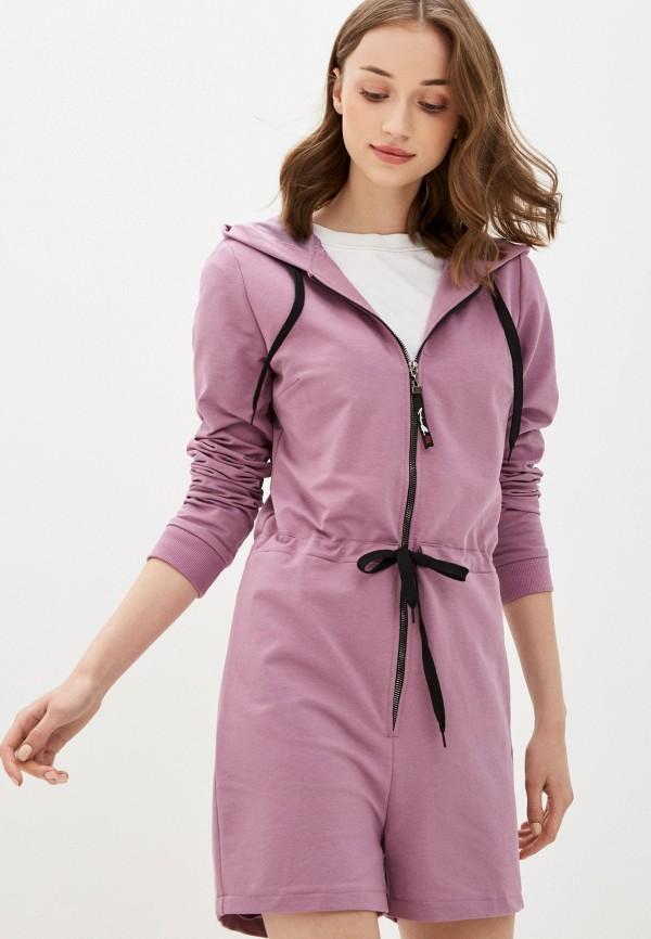 женский комбинезон rossa, фиолетовый