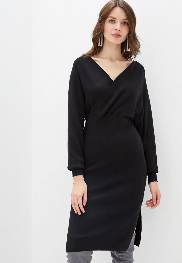 женское повседневные платье rossa, черное