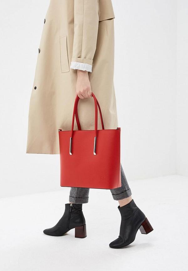 Фото 4 - Женские сумки и аксессуары Roberto Buono красного цвета