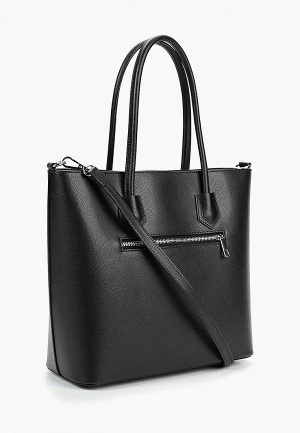 Фото 2 - Женские сумки и аксессуары Roberto Buono черного цвета