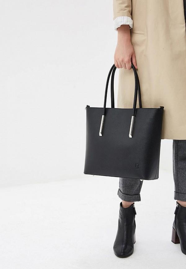Фото 4 - Женские сумки и аксессуары Roberto Buono черного цвета