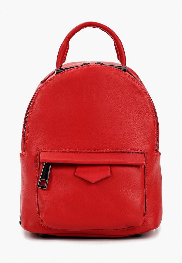 женский рюкзак roberto buono, красный